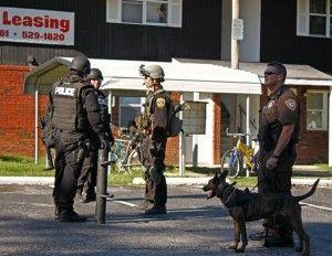 Police arrest three on Poplar