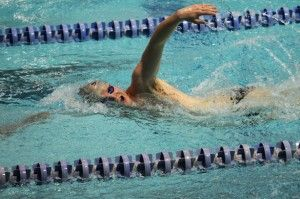 Swim team dominates season's first events