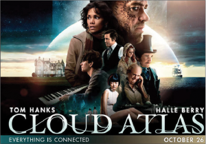 Cloud Atlas is all over the map