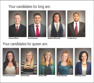 Meet the 2012 Homecoming court
