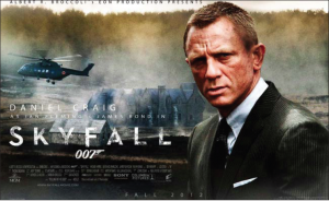 For James Bond, Sky is limit