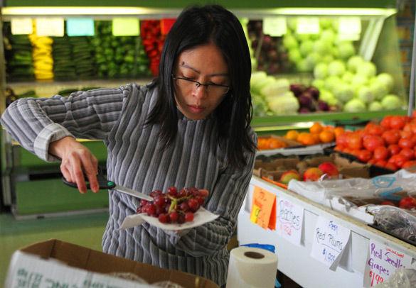 Fresh foods in season