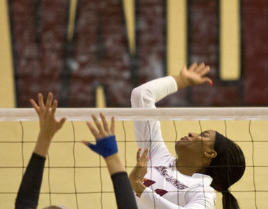 Volleyball team loses heartbreaker in home opener