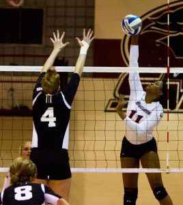 Volleyball bounces back against Loyola