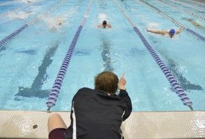 Cats outswim Dawgs in last fall home meet