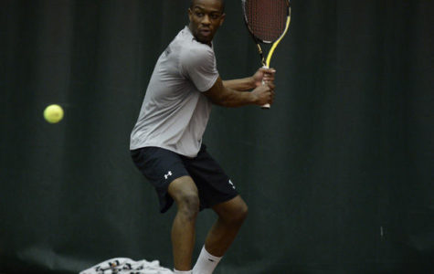 Men's tennis sweeps weekend at home