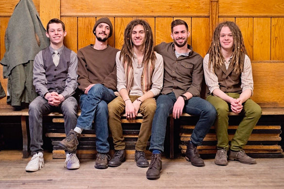 The Way Down Wanderers combine styles and bring folk to town