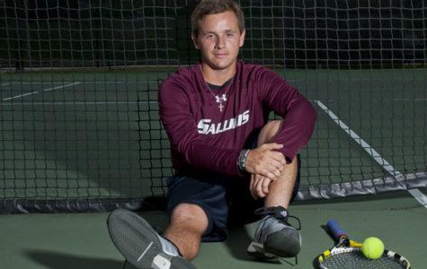 Saluki tennis freshman comes prepared