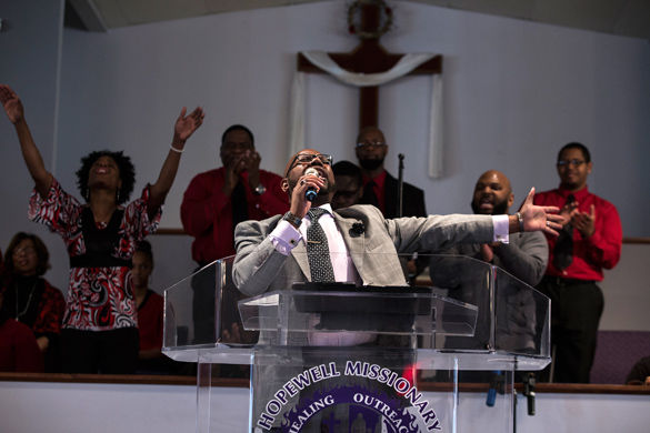 African-American history seen in black churches