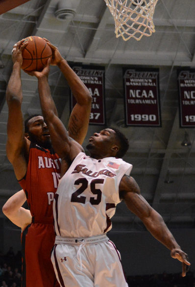 Salukis cannot sustain first-half success
