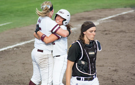 SIU softball vs Wichita State University
