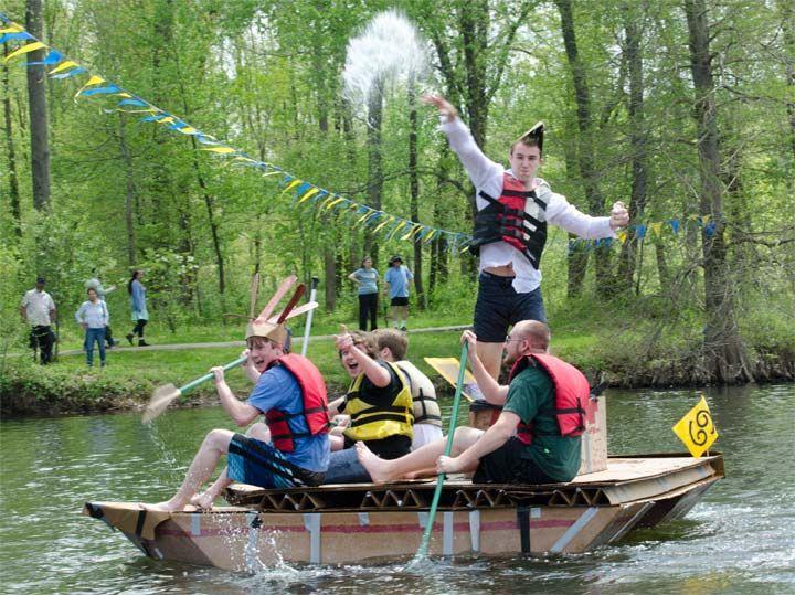 42nd Annual Cardboard Boat Regatta draws community support