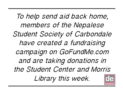 Students start relief campaign for Nepal