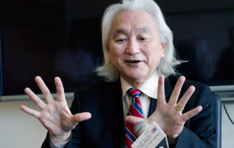 Michio Kaku takes Salukis to the future