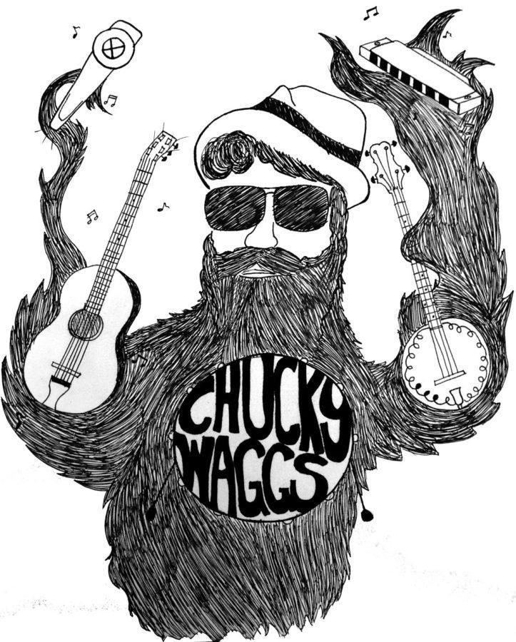 Adam Wagner channels musical ideas through 'Chucky Waggs'
