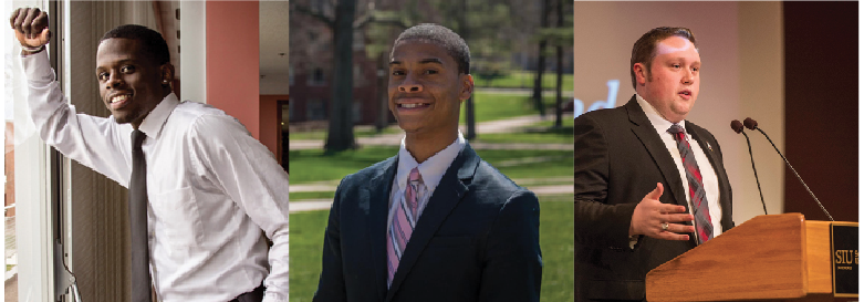 Students hope to become next representative on board