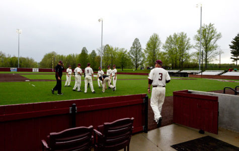 Rain not a problem for Saluki baseball