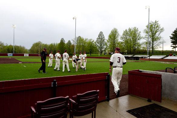 Rain not a problem for Saluki baseball