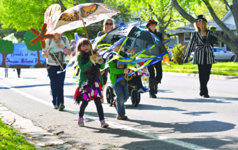 Puppet parade celebrates Earth Day