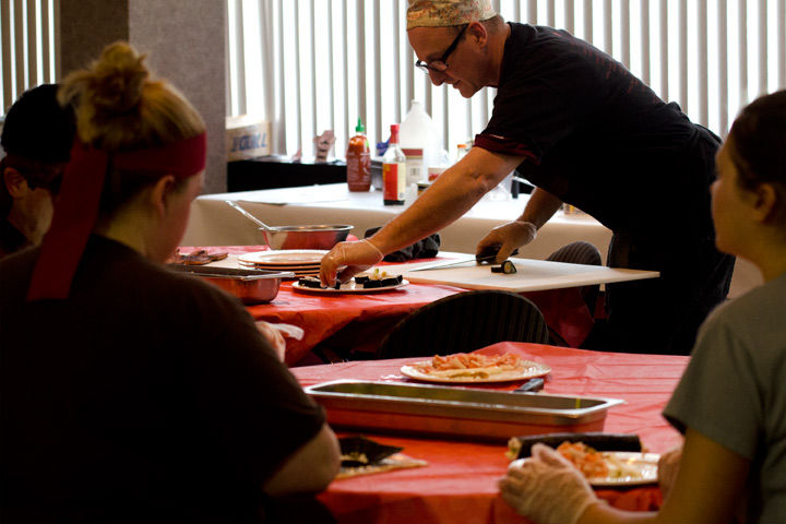 Sushi class expands on traditional culinary art