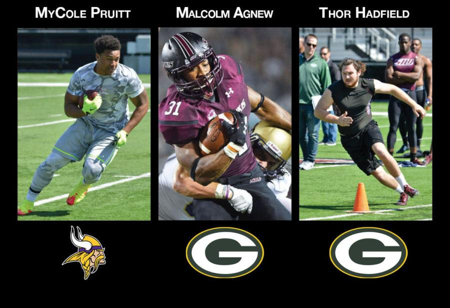 Pruitt and Agnew earn NFL contracts, Hadfield gets camp invitation
