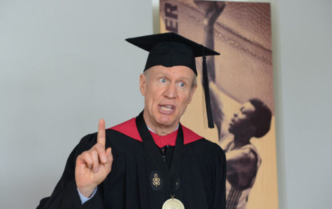 Rauner explains personal motives at graduation