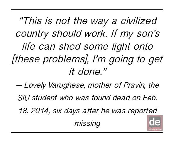 Vigil held for Pravin Varughese in Chicago