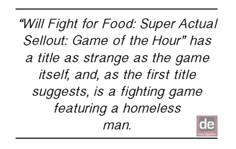 'Will Fight for Food' comes up short of title