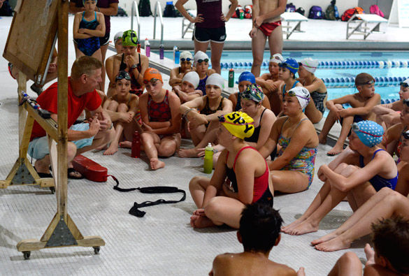 Swim camp trains the young and mighty