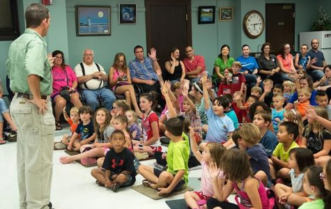 Creepy critters come back to Marion Carnegie Library
