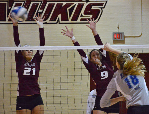 Saluki volleyball splits Saturday matches