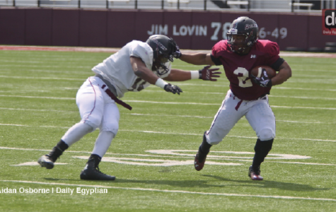 Saluki backfield filled with talent, inexperience