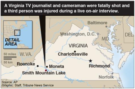 Fatal shootings of Virginia journalists put horror on air