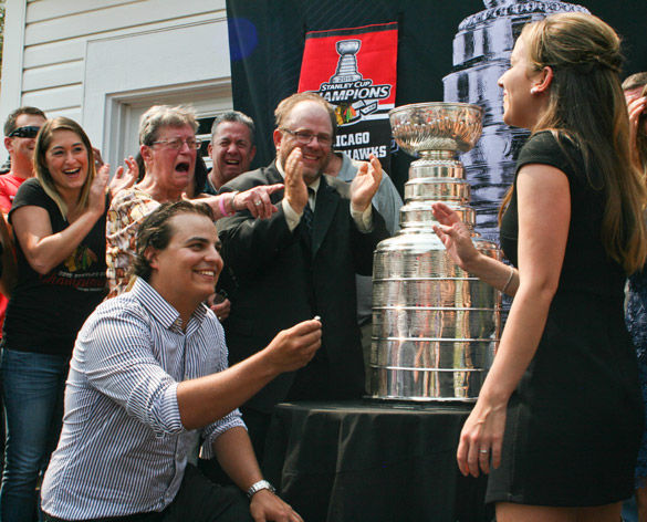 A day with the Cup: DJ Kogut