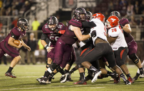 Front five paving the way for Saluki offense