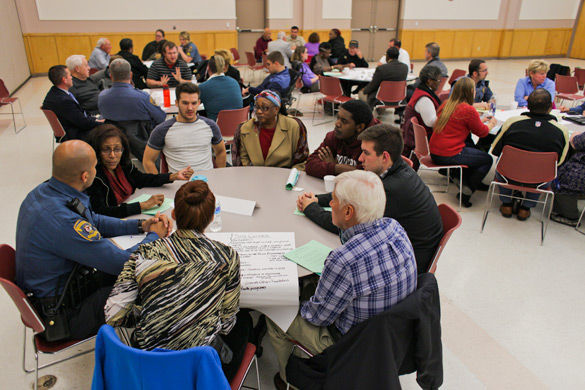 Community hosts discussion about local policing