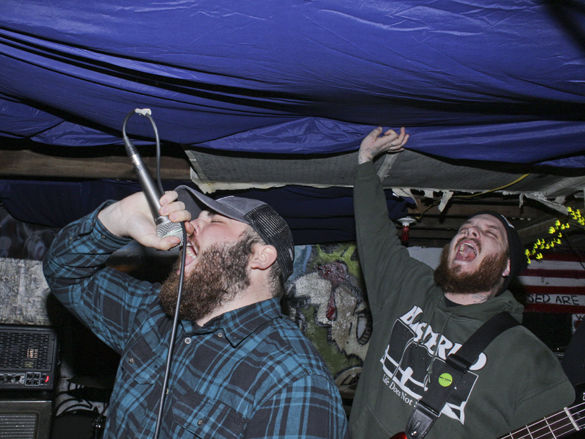 Local rock 'n' roll lives beneath the rafters
