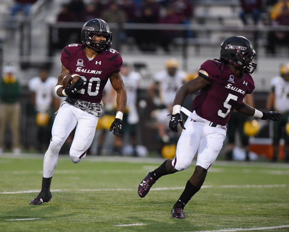 Salukis using speed to scorch defenses
