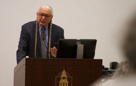 Activist discusses Native American social issues to honor heritage month