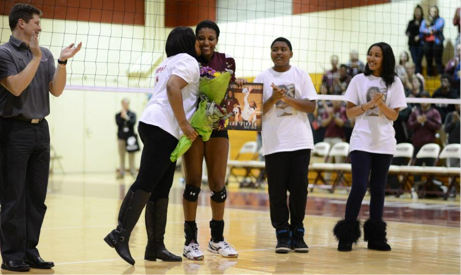 SIU volleyball ends home season with victory