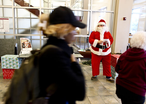 SIU fraternities donate presents to children