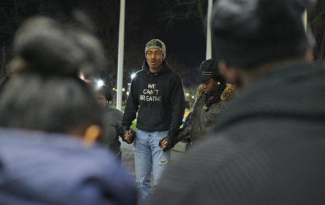 Black students raise voices against Chicago violence