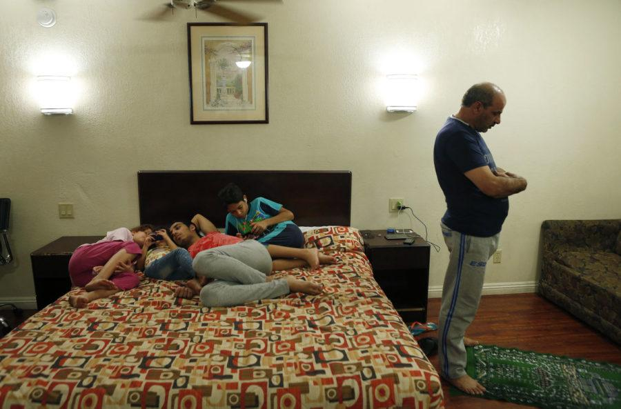 Fleeing Syria: A family is lucky to be in California, but life is far from easy