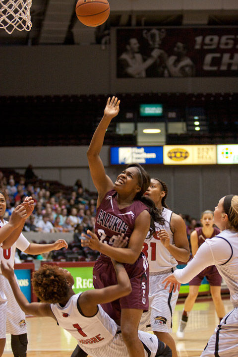 Salukis face tough tests on the court