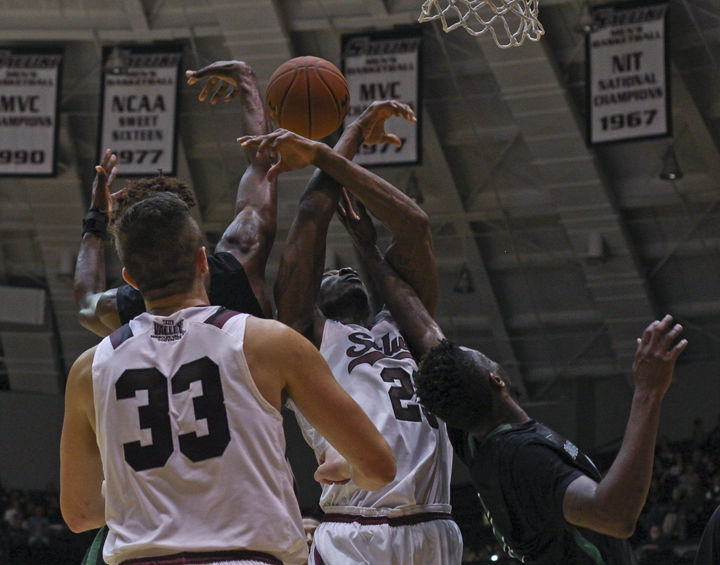 Salukis have habit of getting into foul trouble
