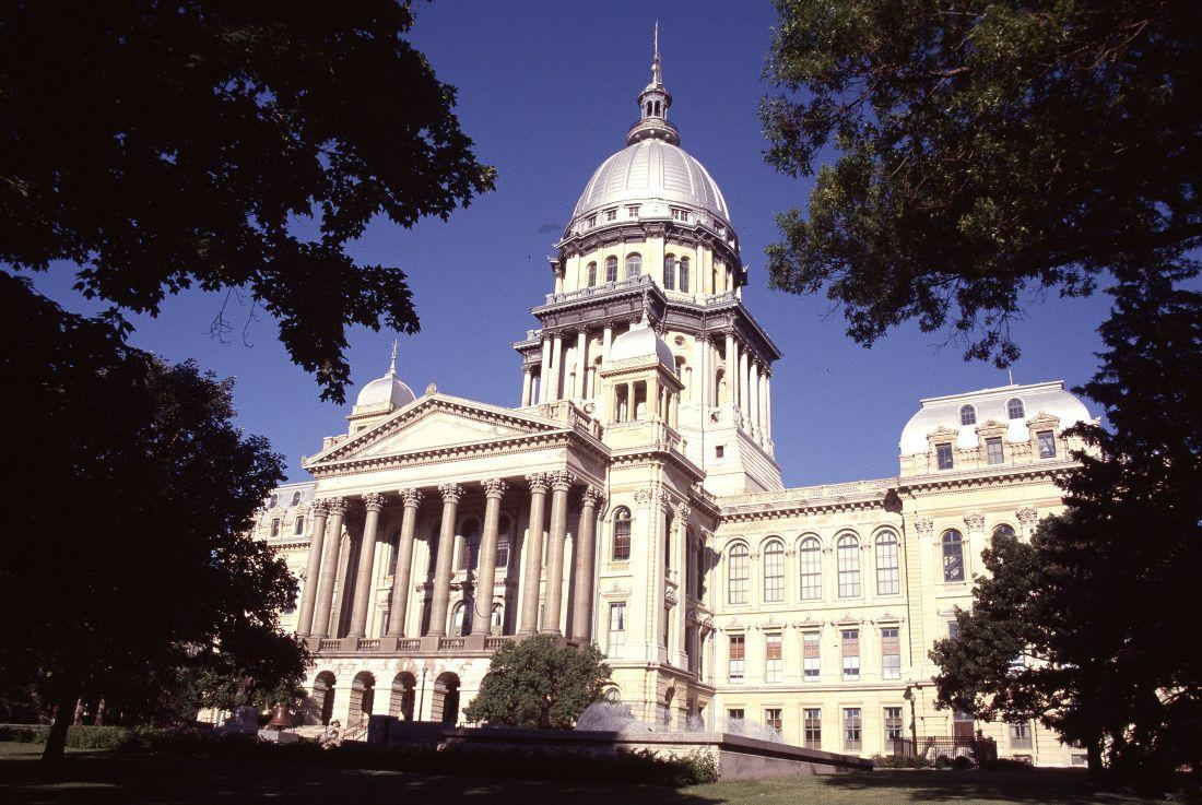 Illinois State Capitol in Springfield. (Chicago Tribune file photo)