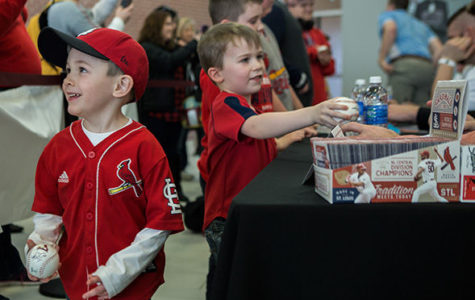 Cardinals caravan stops in Carbondale