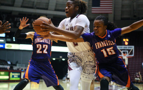 Saluki women's hoops hoping to bounce back against Evansville