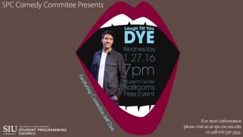SIU student opening for comedian Jeff Dye