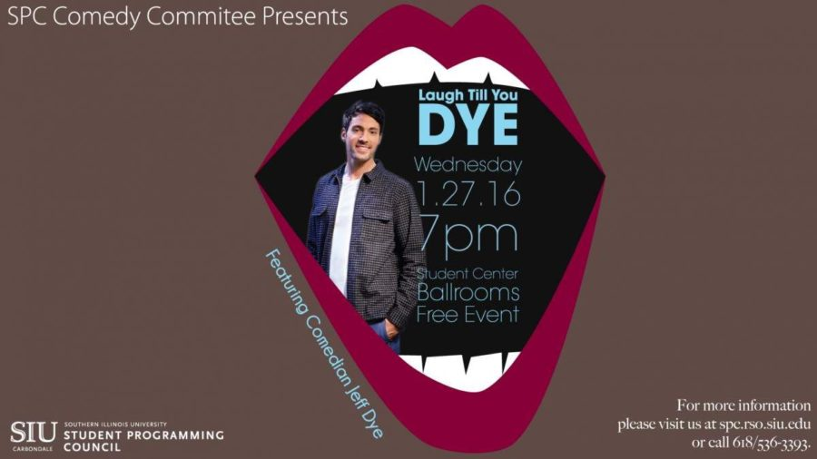 SIU+student+opening+for+comedian+Jeff+Dye